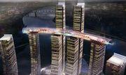 Chùm ảnh tòa nhà nằm ngang cao nhất thế giới tại Trung Quôc