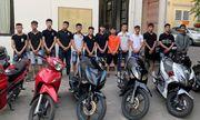 Hơn 15 thanh niên đất Cảng đua xe náo loạn đường phố lúc nửa đêm