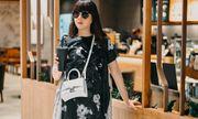 Hoa hậu Hằng Nguyễn phối đồ ngẫu hứng dạo phố, lộ diện nhiều phụ kiện hàng hiệu đắt đỏ