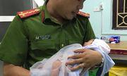 Mẹ bỏ con sơ sinh 7 ngày trong làn nhờ người
