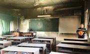 Đà Nẵng: Cháy phòng học nhạc ở trường THCS Lê Hồng Phong