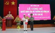 Phó giám đốc Công an Thừa Thiên Huế được bổ nhiệm làm Giám đốc Công an Quảng Trị