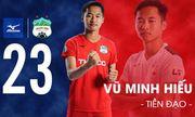 HLV Park Hang-seo gọi Vũ Minh Hiếu lên tuyển U22 Việt Nam