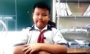 Cà Mau: Tuyên dương nam sinh lớp 4 nhặt được tiền, trả lại người đánh mất