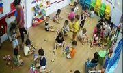 Hải Phòng: Cô giáo mầm non bị tố dùng dây chun bắn trẻ trong giờ ra chơi
