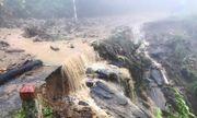 Mưa lớn kèm theo sạt lở đất, sụt lún chia cắt các huyện ở Lào Cai