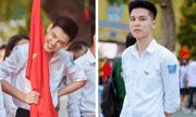 Hotboy cầm cờ đình đám một thời trường Phan Đình Phùng