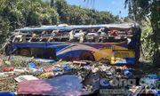 Vụ xe khách lao xuống vực 5 người chết: Phụ xe dương tính với ma túy