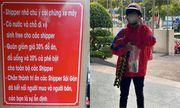 Cánh shipper Sài Gòn cảm động với hành động tri ân của chủ quán