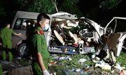 Hiện trường vụ tai nạn thảm khốc xe khách đấu đầu xe tải ở Bình Thuận, 8 người chết