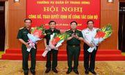 Trao quyết định bổ nhiệm 3 Thứ trưởng bộ Quốc phòng