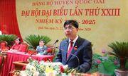 Chủ tịch UBND huyện Quốc Oai không trúng cử Ban chấp hành Đảng bộ huyện