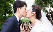 Hình ảnh ngọt ngào quá đỗi trong đám cưới của á hậu Thúy Vân và chồng điển trai Nhật Vũ