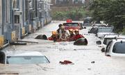 Mưa lũ nghiêm trọng nhấn chìm hàng trăm nhà cửa và ô tô ở Hàn Quốc