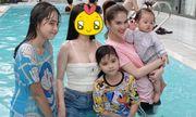Ngọc Trinh chụp ảnh gia đình mà bị 1 nhân vật