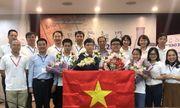 Đoàn Việt Nam đoạt 4 huy chương Vàng Olympic Hoá học quốc tế 2020