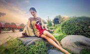 Tái xuất sau thời gian dài, Hoa hậu đẹp nhất Châu Á lộ thân hình hốc hác trong loạt ảnh mới