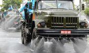 Cận cảnh xe đặc chủng phun thuốc khử khuẩn toàn quận Sơn Trà