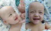 Tan chảy trước nụ cười vui vẻ của 2 bé Trúc Nhi - Diệu Nhi