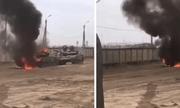 Tin tức quân sự mới nóng nhất ngày 3/8: Xe tăng T-72 của Nga bốc cháy khi tập trận