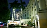 Khách sạn 5 sao ở Hà Nội im ắng, lác đác vài phòng sáng đèn giữa mùa dịch Covid-19
