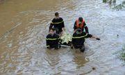 Vụ người đàn ông nhảy khỏi xe máy, ngã xuống suối: Tìm thấy thi thể nạn nhân