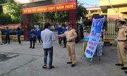 Bắc Giang: CSGT phát 5.000 khẩu trang