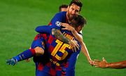 Lập siêu phẩm đưa Barca vào tứ kết, Messi đi vào lịch sử Champions League