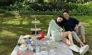 Loạt ảnh tình tứ của Hoa hậu Hương Giang với Matt Liu-CEO giàu có người Singapore