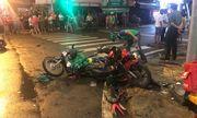 Hiện trường kinh hãi vụ nữ tài xế lái Camry tông loạt xe máy chờ đèn đỏ ở TP.HCM