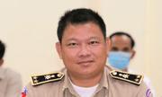 Đình chỉ công tác Thiếu tướng cảnh sát Campuchia vì bị tố
