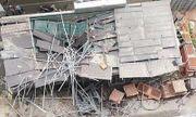 Sập mái nhà ở Thái Bình: 2 người chết, 2 người bị thương