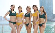 Top 11 Hoa hậu Hong Kong diện áo tắm khiến người xem thất vọng vì lộ mỡ thừa kém duyên