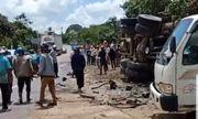 Lâm Đồng: Xe tải mất lái tông người đứng trên vỉa hè tử vong