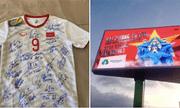 Ông chủ tập đoàn nhựa trúng đấu giá áo thi đấu của Văn Toàn
