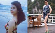 NSƯT Kim Oanh U50 vẫn diện váy xẻ cao