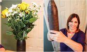 Bà mẹ sợ run người khi phát hiện ra bí mật sau chiếc bình sắt, dùng cắm hoa suốt 30 năm