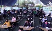 """Thí sinh thi trường sư phạm ở Mexico và chiêu gian lận """"có một không hai"""""""