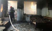 Hải Phòng: Đốt vàng mã ngày Rằm tháng 7 khiến ngôi nhà 2 tầng bốc cháy ngùn ngụt