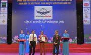 """Tập đoàn Boss Land nhận cú đúp giải thưởng """"Thương hiệu Vàng Việt Nam 2020"""" và  """"Doanh nhân xuất sắc Đất Việt 2020"""