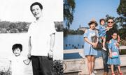 Bố và con gái chụp ảnh cùng nhau tại một nơi suốt 40 năm