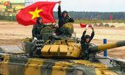 Đội tuyển xe tăng Việt Nam lọt vào chung kết bảng đấu 2 giải Tank Biathlon