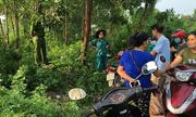 Khám nghiệm hiện trường vụ thi thể người đàn ông nằm co quắp trong bụi rậm ở Thái Nguyên