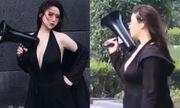 Hotgirl Trung Quốc triệu follow xinh như búp bê bất cẩn lộ nhan sắc thật khiến dân tình vỡ mộng