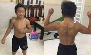 Mới 10 tuổi đã có cơ bắp cuồn cuộn, cậu bé Việt Nam lên báo nước ngoài
