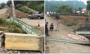Xót xa hiện trường vụ đổ cổng khiến 3 học sinh tử vong tại Lào Cai