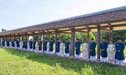 Lần đầu công bố trọn bộ hình ảnh cán bộ văn hóa Huế mặc áo dài ngũ thân