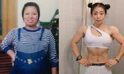 """Giảm liền 35kg, cô giáo 8x sở hữu cơ bắp vạm vỡ khiến dân tình """"tròn mắt"""" ngưỡng mộ"""