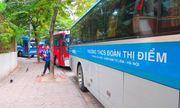 Trường tiểu học Đoàn Thị Điểm sở hữu đội xe đưa-đón học sinh