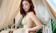 Đỗ Mỹ Linh diện bikini cực nóng bỏng, tạo dáng gợi cảm giữa ốc đảo Sài Gòn